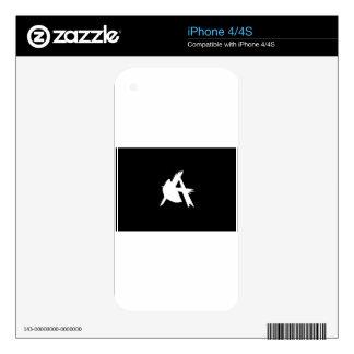 Muestra-Bandera Skin Para El iPhone 4