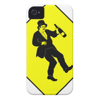 Muestra bebida Funn del hombre Carcasa Para iPhone 4