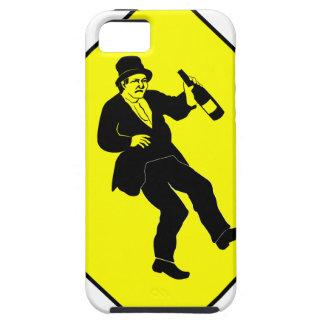 Muestra bebida Funn del hombre Funda Para iPhone SE/5/5s