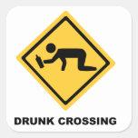 Muestra borracha de la travesía