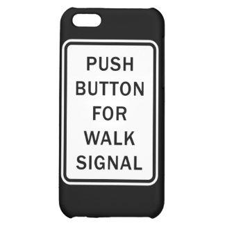 Muestra - botón para la señal del paseo