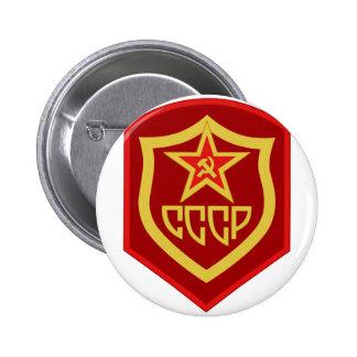 Muestra CCC de URSS del remiendo del uniforme de Pin Redondo 5 Cm