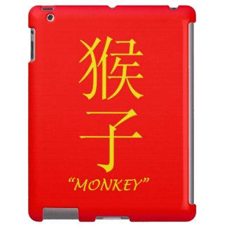"""Muestra china de la astrología del """"mono"""" funda para iPad"""
