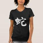 Muestra china del zodiaco de la serpiente camisetas