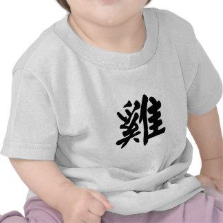 Muestra china del zodiaco del gallo camisetas