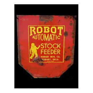 muestra común automática del feeeder del robot postal