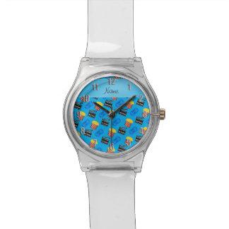 Muestra conocida de la acción del boleto de la relojes de pulsera