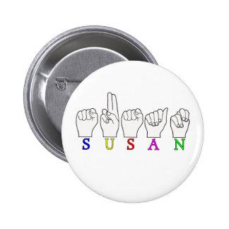 MUESTRA CONOCIDA DE SUSAN ASL FINGERSPELLED PIN