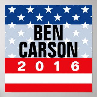 Muestra conservadora política de la reunión de Ben Póster