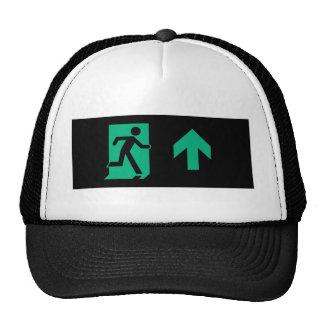 Muestra corriente de la salida de socorro de la gorras