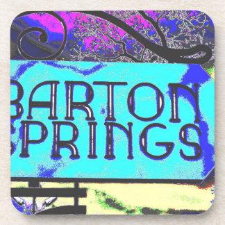 Muestra de Barton Springs Posavasos