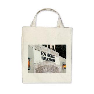 Muestra de biblioteca pública de Los Ángeles Bolsas De Mano