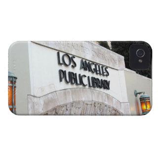 Muestra de biblioteca pública de Los Ángeles Case-Mate iPhone 4 Cobertura