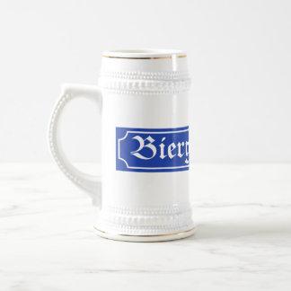 Muestra de Biergarten, Baviera, Alemania Jarra De Cerveza