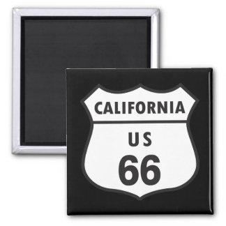 Muestra de California los E E U U 66 Imán Para Frigorífico