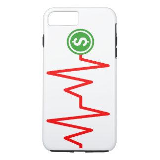 Muestra de dólar común de la carta funda iPhone 7 plus