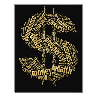 Muestra de dólar tarjeton