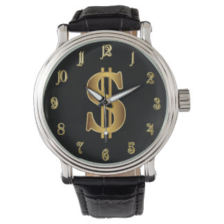 Muestra de dólar relojes de mano