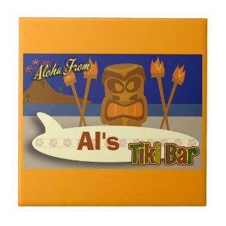 Muestra de encargo de la barra de Tiki Azulejos Ceramicos