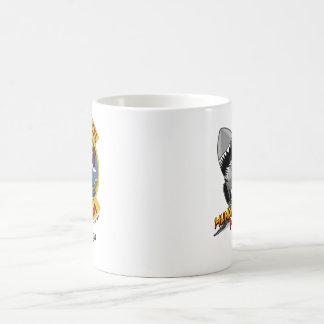 Muestra de encargo de la taza de café w/call