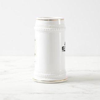 muestra de encargo de Stein w/call de la cerveza Jarra De Cerveza