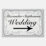 Muestra de encargo w/Arrow del boda