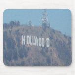 Muestra de Hollywood Alfombrillas De Ratones