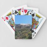 muestra de hollywood baraja de cartas