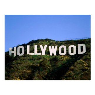 Muestra de Hollywood de California Tarjetas Postales