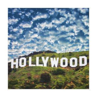 Muestra de Hollywood Impresion En Lona