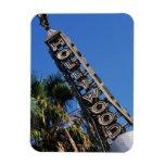Muestra de Hollywood, Los Ángeles, California Imán De Vinilo