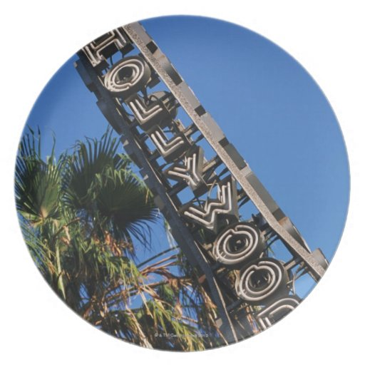 Muestra de Hollywood, Los Ángeles, California Plato
