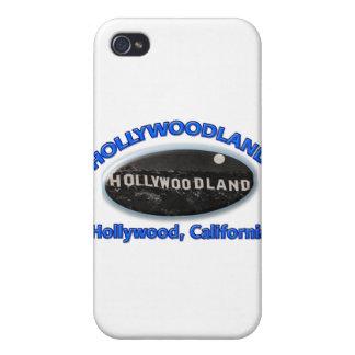 Muestra de Hollywoodland iPhone 4 Funda