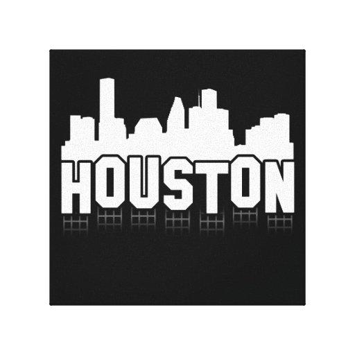 Muestra de Houston Lienzo Envuelto Para Galerías