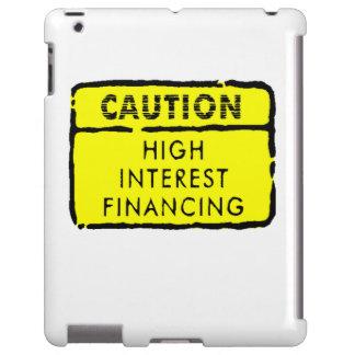 Muestra de interés alto del financiamiento funda para iPad