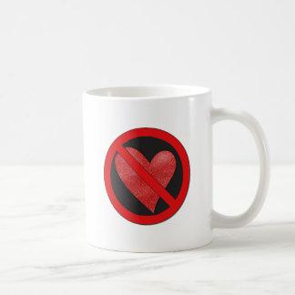Muestra de la Anti-Tarjeta del día de San Valentín Taza
