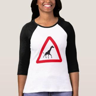 Muestra de la atención: ¡Travesía de la jirafa! Playera