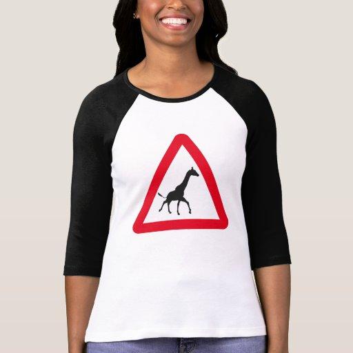 Muestra de la atención: ¡Travesía de la jirafa! Camiseta