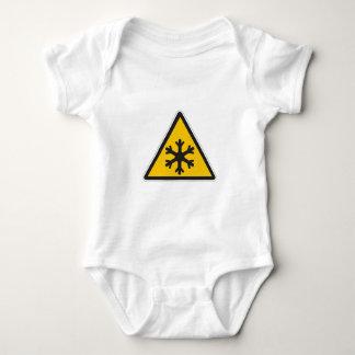 Muestra de la baja temperatura body para bebé