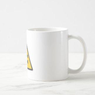 Muestra de la baja temperatura taza de café