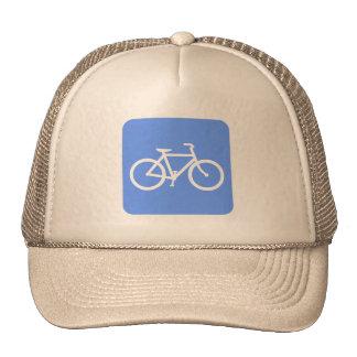 Muestra de la bicicleta - azul cielo gorro