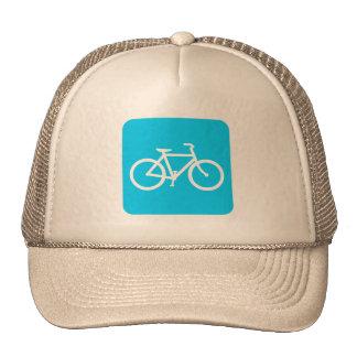Muestra de la bicicleta - azul de cielo gorro