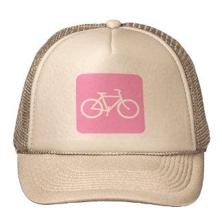 Muestra de la bicicleta - rosa gorras