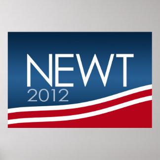 Muestra de la campaña de Newt Gingrich 2012 Impresiones