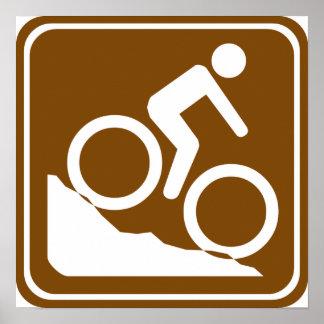 Muestra de la carretera de BMX Impresiones