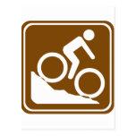 Muestra de la carretera de BMX Tarjetas Postales