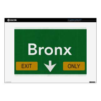 Muestra de la carretera de Bronx de la piel del Skins Para 38,1cm Portátil