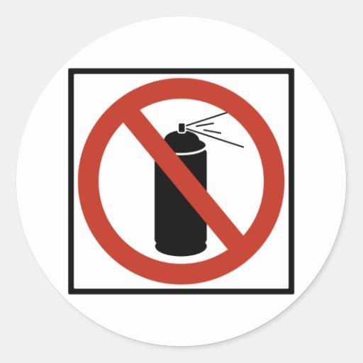 Muestra de la carretera de la prohibición del etiqueta redonda