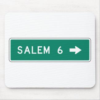 Muestra de la carretera de Salem Tapete De Ratón