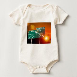 Muestra de la carretera del conocimiento body para bebé
